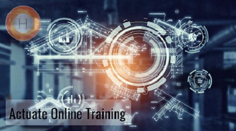 Actuate online training